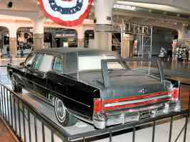 1972 Lincoln Presidential Parade Limousine Used by Nixon Ford Carter Reagan Black rvl H Ford Museum N