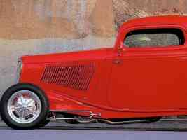 Hot Rods 1933 Ford Coupe