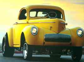Hot Rods 1942 Willys Coupe
