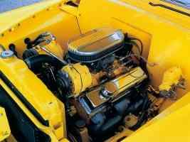 Hot Rods 1950 Cheverlot engine