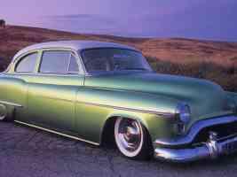 Hot Rods 1952 Oldsmobile 6