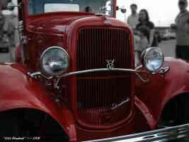 red 1932 streetrod