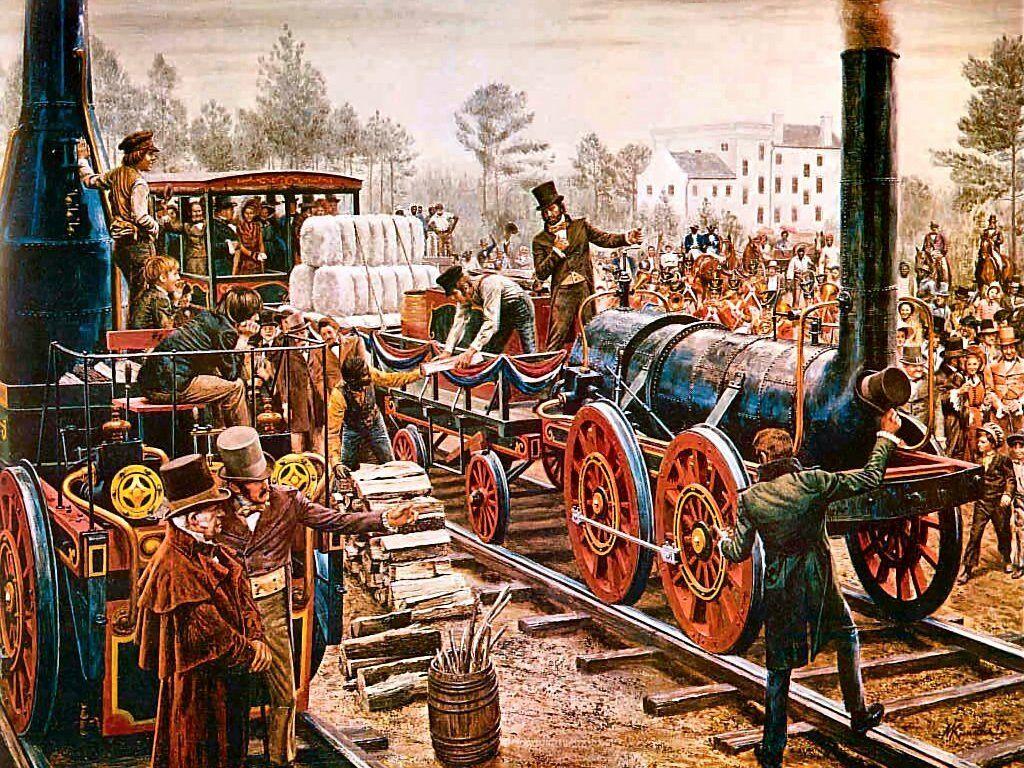 First American Steam Locomotives