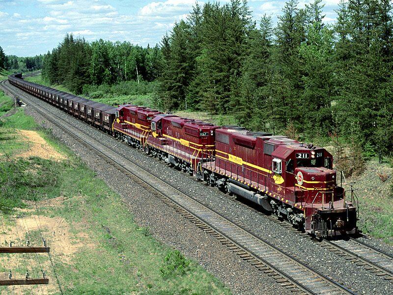 Iron Range Taconite Train Minnesota
