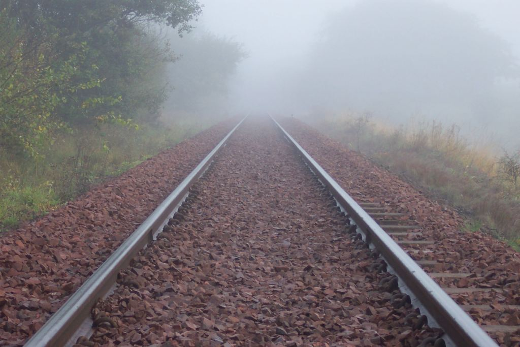 Rails In Fog