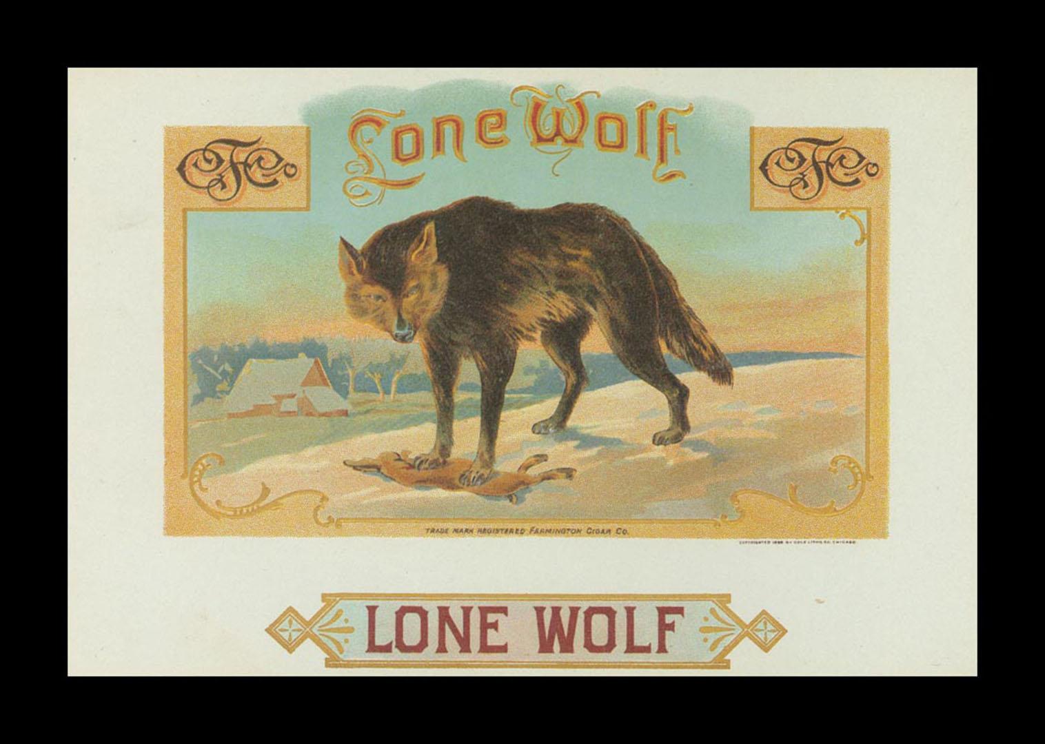 Lone wolf vintage series cigars