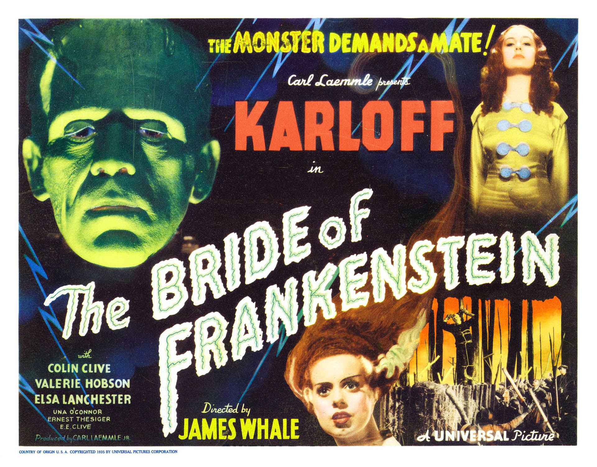 1930s Bride Of Frankenstein Landscape 2