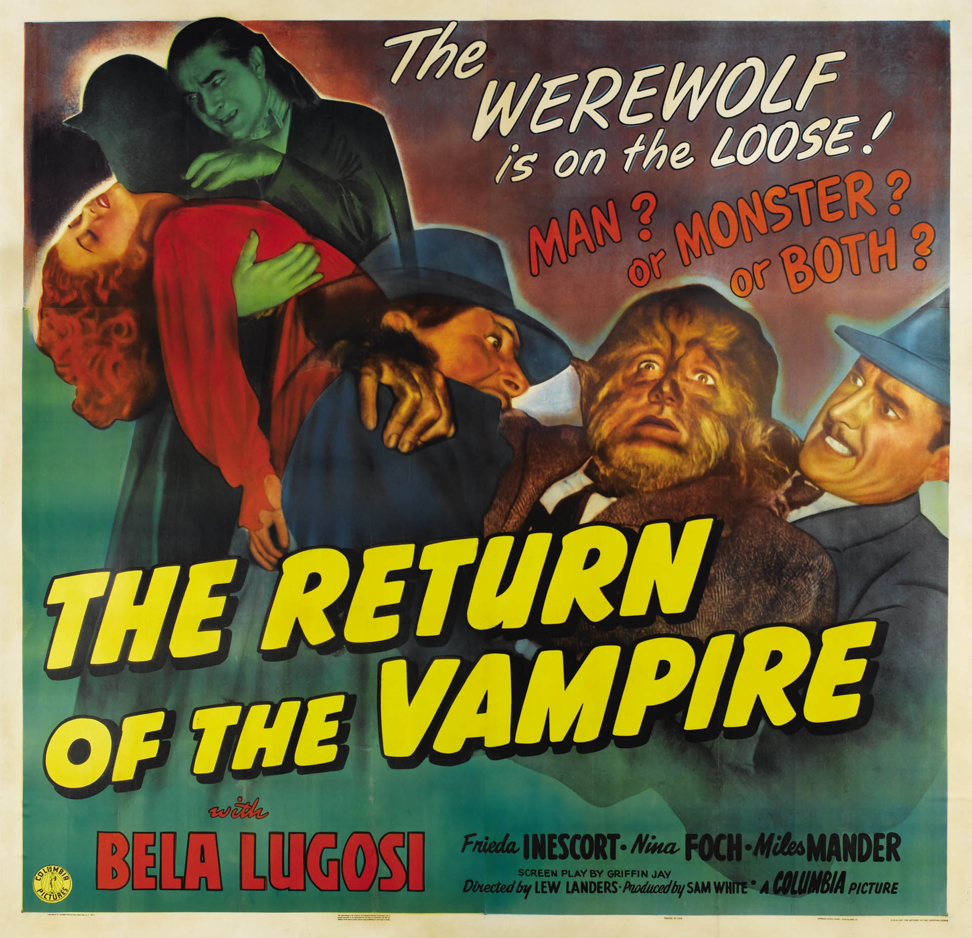 The Return Of The Vampire 1944