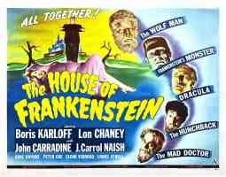 THE HOUSE OF FRANKENSTEIN