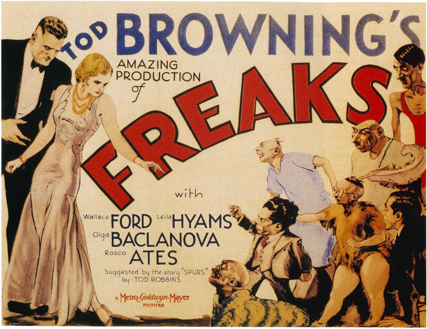 Freaks vintage horror movie posters wallpaper image