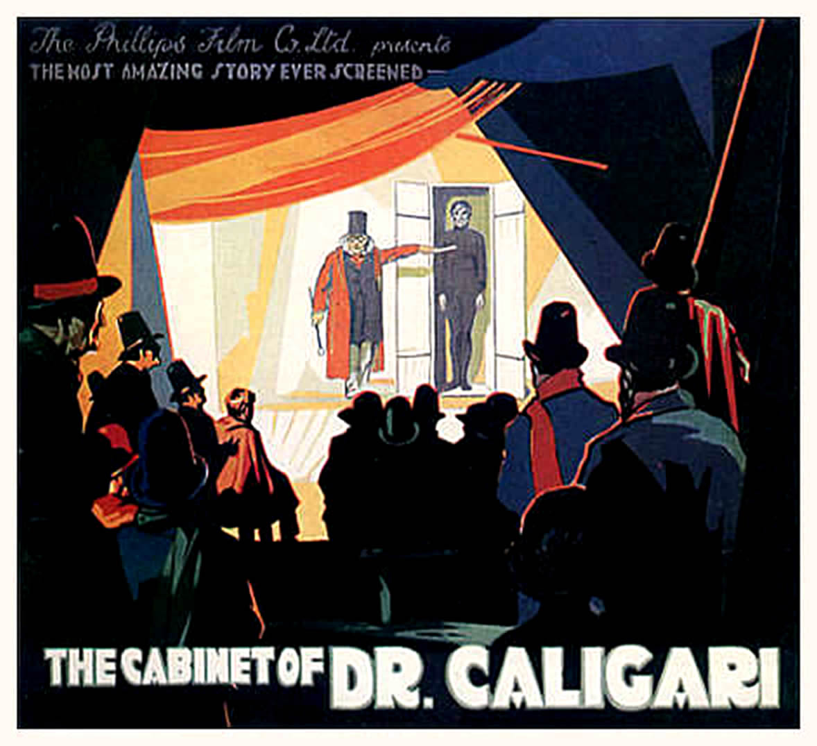THE CABINET OF DR CALIGARI Landscape