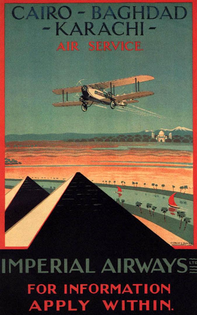Cairo Baghdad Karachi Imperial Airways