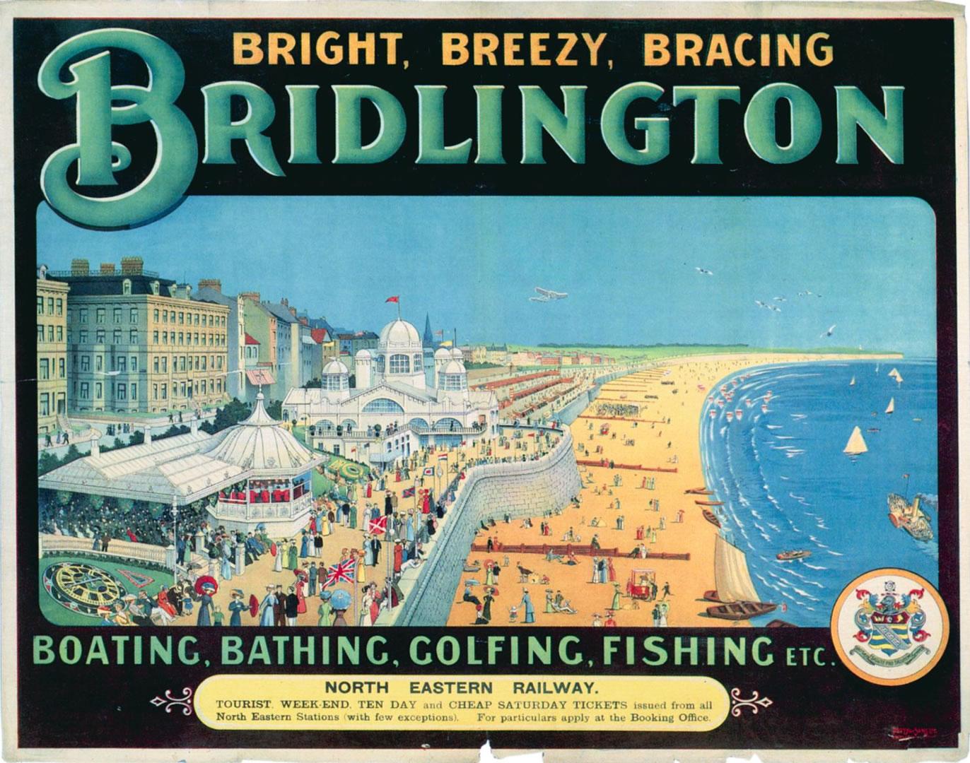 Bridlington - Vintage British Railways Posters