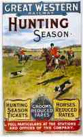 great western railway hunting season