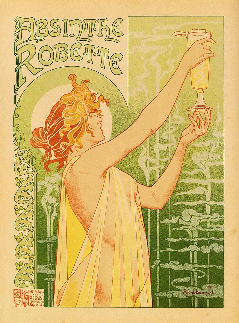 Absinthe Robette - Vintage European Fine Art Posters