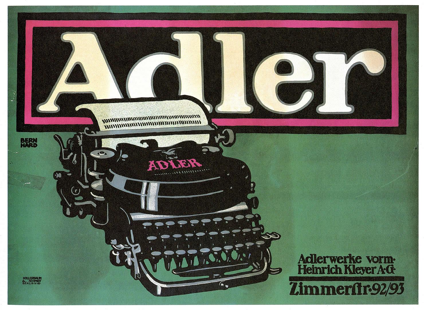 Adler Typewriters