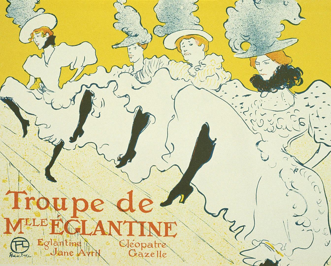 Can Can Troupe De Mme Eglantine