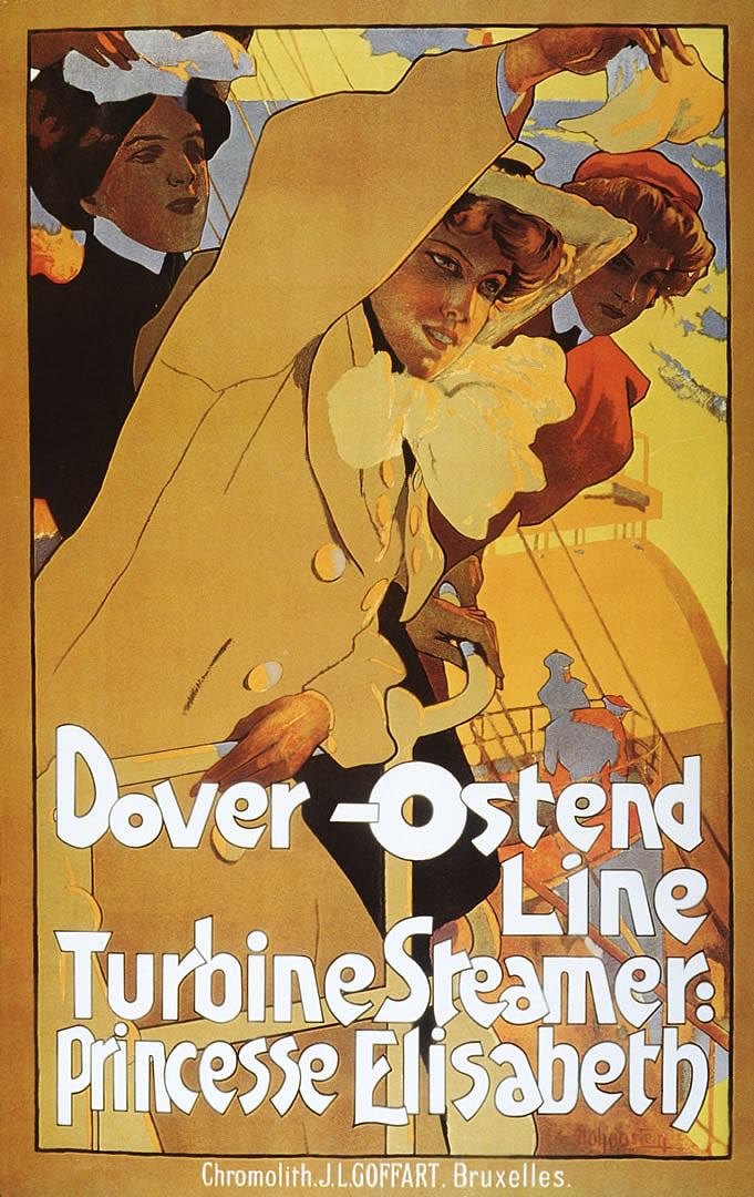 Dover Ostend Turbine Steamer Princess Elisabeth