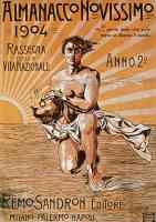 almanacco novissimo 1904