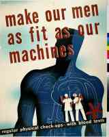 make our men as fit as our machines