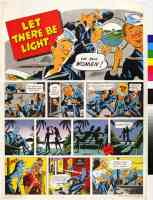 let there be light comic strip