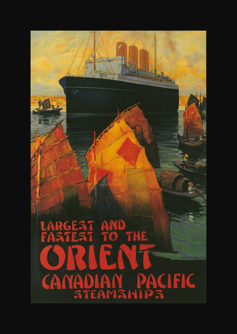 The Orient By Canadian Pacific Steamships