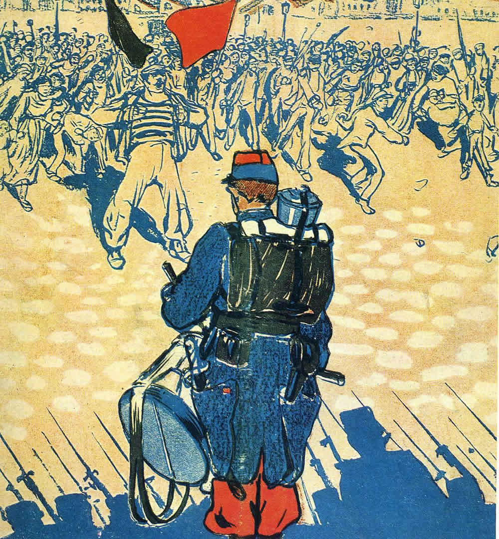 French Soldier Drummer