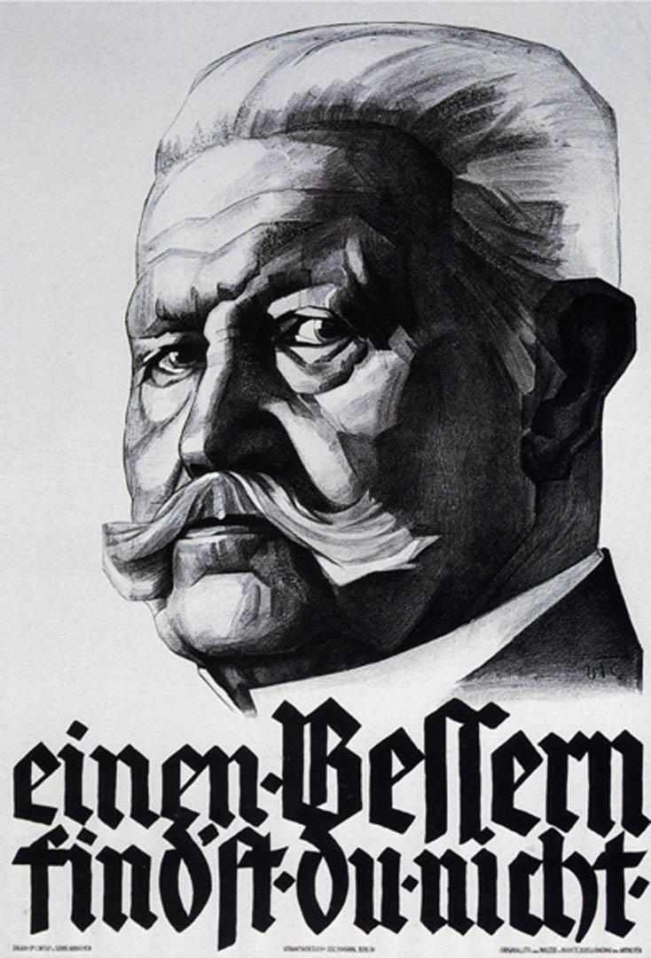 Hindenberg War Plea