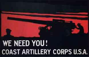 us coastal artillery corps enlistment