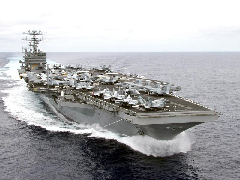 Aircraft Carrier Uss Carl Vinson