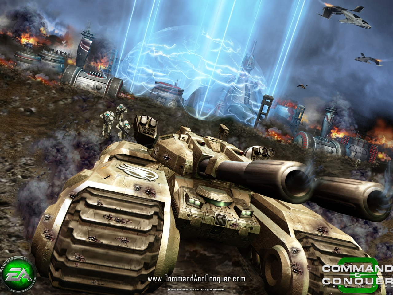 Command And Conquer Wallpaper: Command And Conquer 3 Tiberium Wars Wallpaper