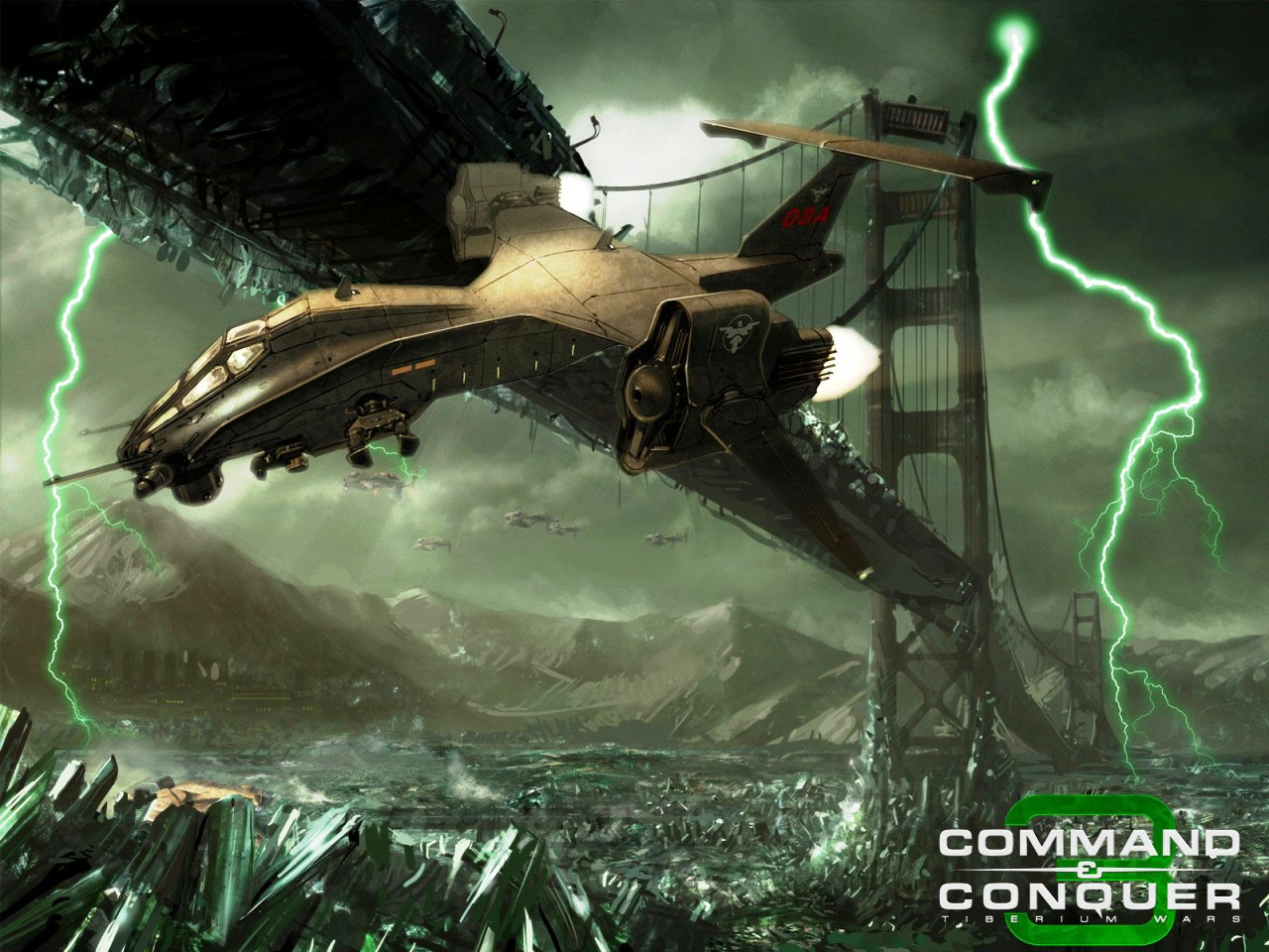 Command And Conquer Wallpaper: Command And Conquer 3 Tiberium Wars