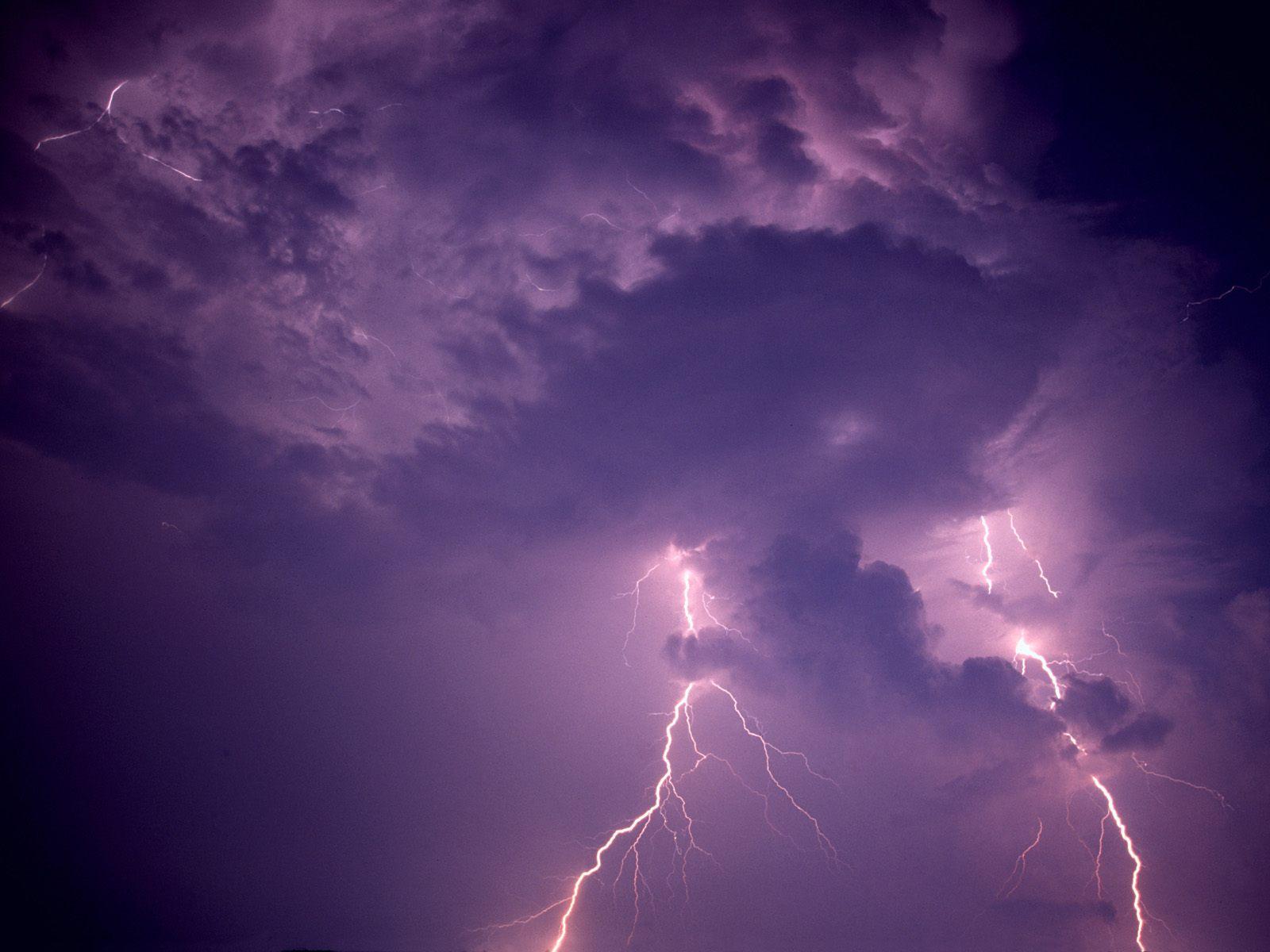 Lightning Over Dauphin Island Alabama