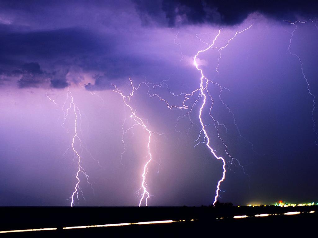 Triple Purple Lightning