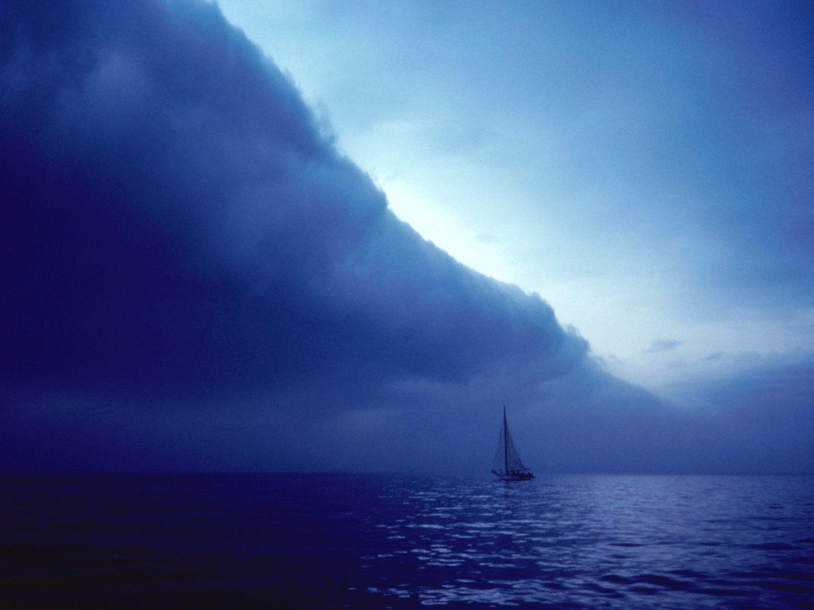 Ominous Storm Front