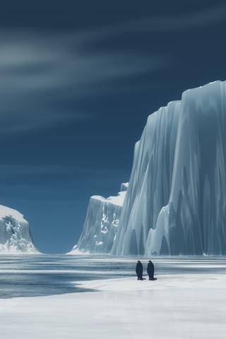 Penguin Bergs