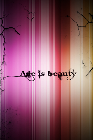 Abstract Age Is Beauty