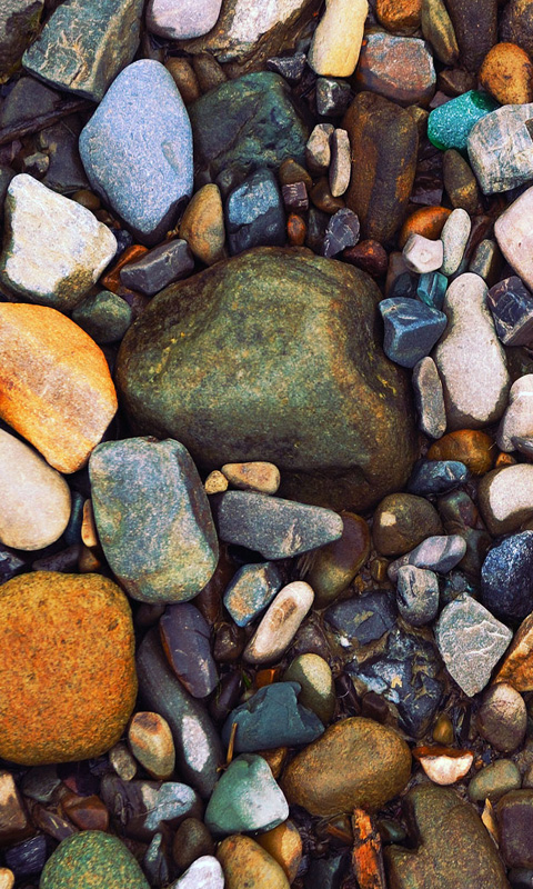 Abstract Pebbles