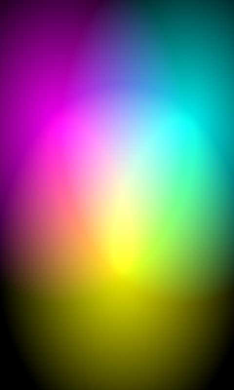 Abstract Prism Color Aura