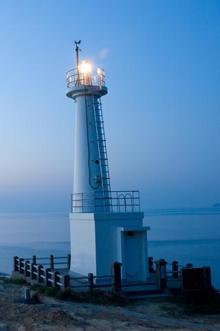 Coastal Watchtower At Wakamatsu Beach
