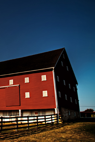 Farm Red Barn
