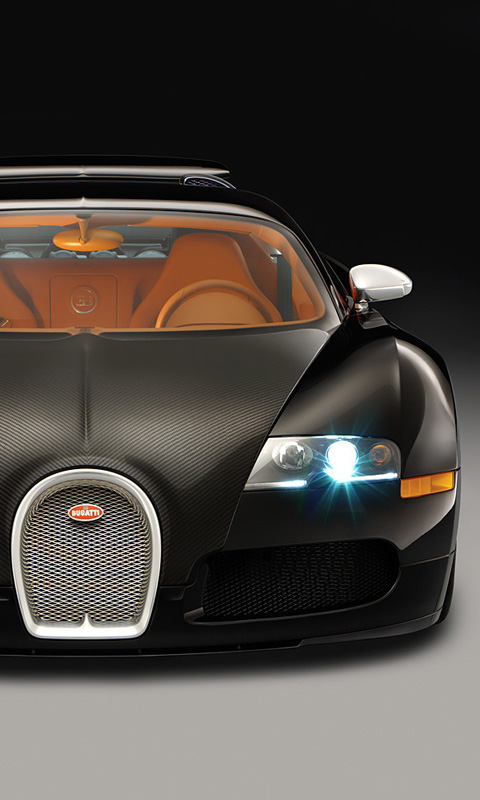 Sports Black Bugatti