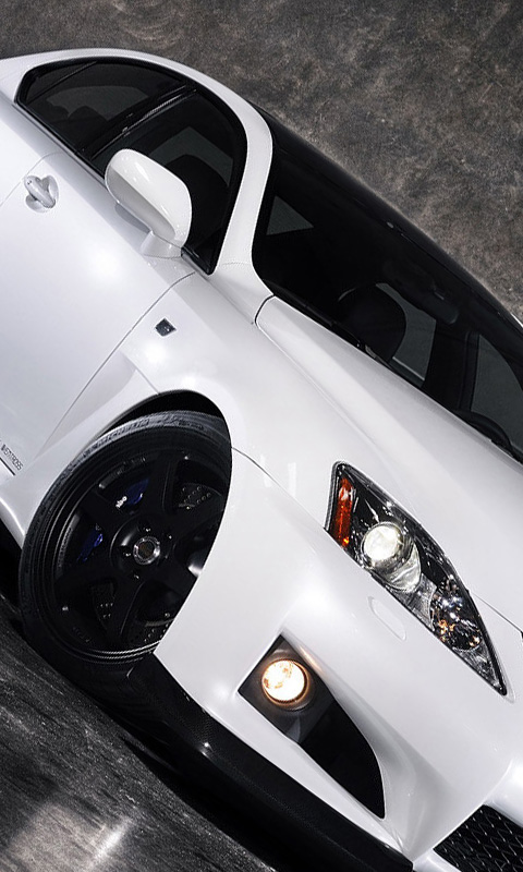 Sports White And Black Wheels