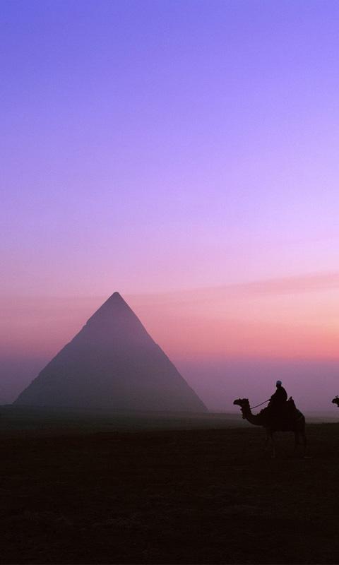 Famous Egyptian Pyramids