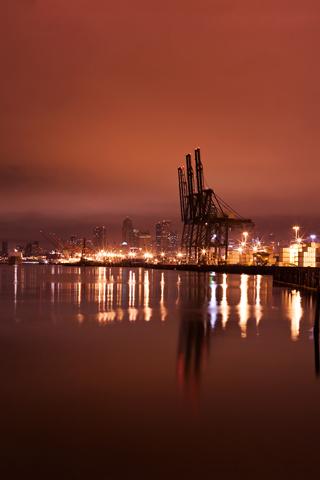Coastal Seattle Harbor