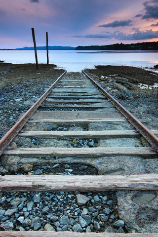 Coastal Tracks To Nowhere