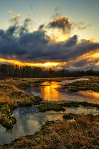Rural Sandilands Sunset