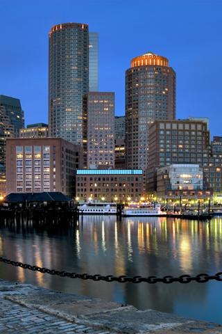 Urban Boston Skyline