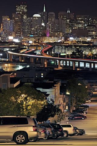 Urban San Franciscio From Portrero Hill