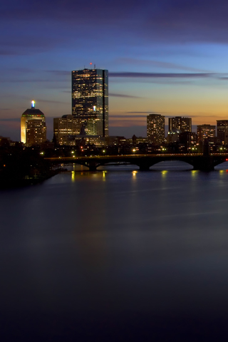Urban Sunset On The Charles